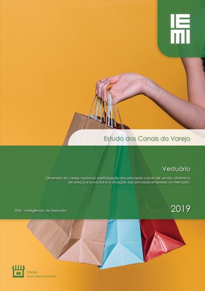 Canais do Varejo de Vestuário 2019