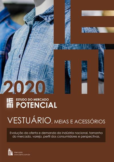 Vestuário, Meias e Acessórios 2020