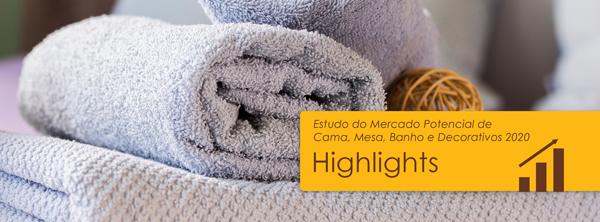 Mercado Potencial de Cama, Mesa, Banho e Decorativos 2020