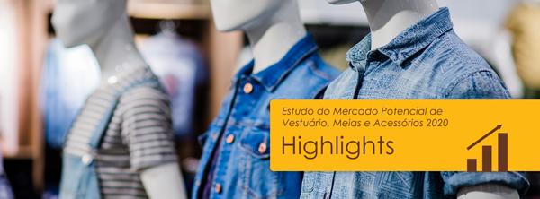 Mercado Potencial de Vestuário, Meias e Acessórios 2020