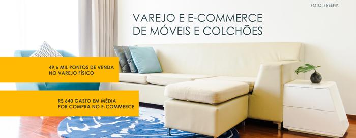 Varejo e E-Commerce de Móveis e Colchões