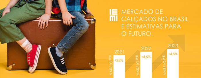 Mercado de Calçados no Brasil e Estimativas para o Futuro