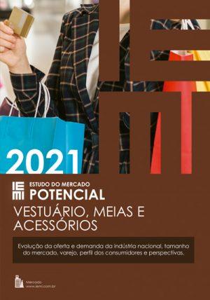 Vestuário, Meias e Acessórios 2021